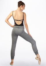 Intermezzo Warm Up Pants Grey back. [Grey]