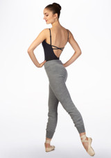 Intermezzo Warm Up Pants Grey side. [Grey]