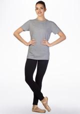 Kelham Prima Dance T-Shirt Grey front. [Grey]