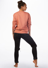 Kelham Plie Dance Sweater Pink back. [Pink]