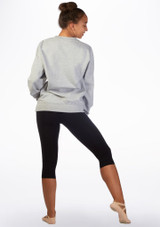 Kelham Plie Dance Sweater Grey back. [Grey]