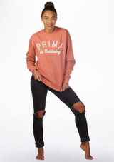 Kelham Prima Dance Sweater Pink front. [Pink]