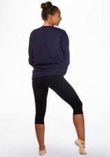 Kelham Frappe Dance Sweater Blue back. [Blue]