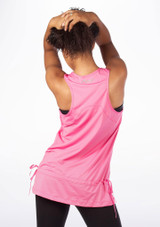 Capezio ACTV-Fitness Mesh Tank Sleeve Dance Top