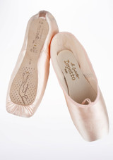 Repetto Carlotta Hard Shank Pointe Shoe Pink #2. [Pink]