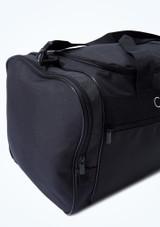 Capezio Everyday Dance Duffle Bag Black Close up front-1 [Black]