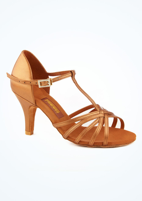 Freed Halina Leather Latin & Salsa Shoe 3