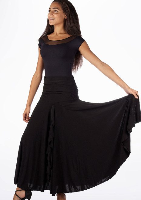 Move Carla Ballroom Skirt Black. [Black]