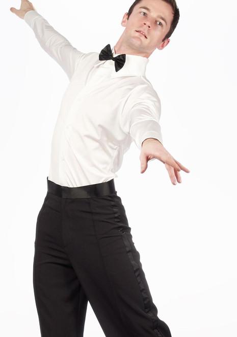 Move Diego Men's Ballroom Shirt White [White]