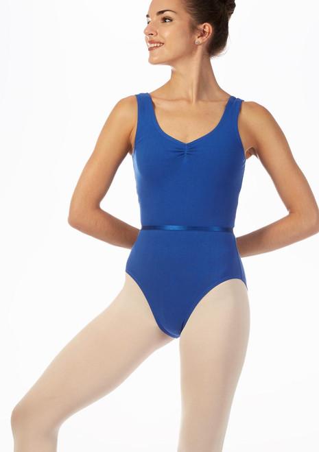 Move Lori Leotard NEW Blue front. [Blue]