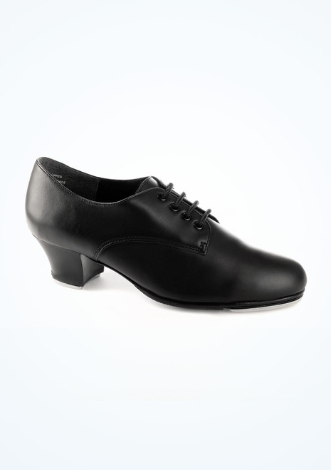 Capezio West End 2 Tap Black. [Black]