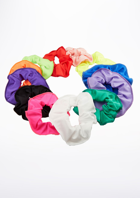 Tappers & Pointers Shiny Lycra Hair Scrunchie