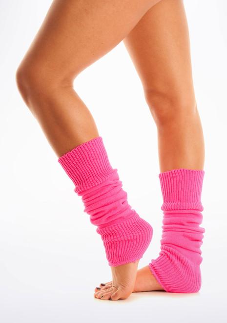 Fluorescent Legwarmers Pink [Pink]