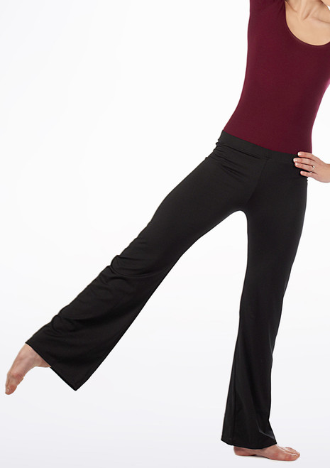 Basic Kids Jazz Pant Black. [Black]