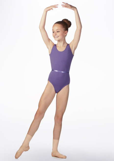 Freed Aimee RAD Leotard Purple front. [Purple]