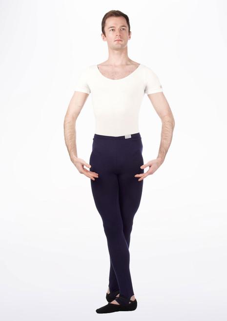 Freed RAD Short Sleeve Thong Leotard White. [White]