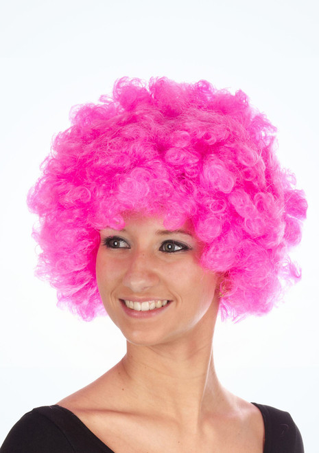 Pop Afro Wig Pink. [Pink]