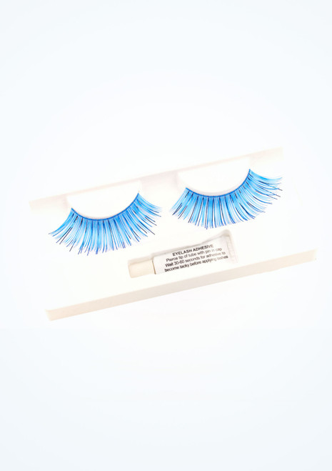 Eyelashes Blue. [Blue]
