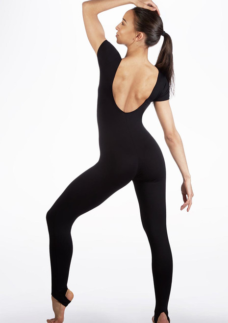 Move Harriet Catsuit Black front. [Black]