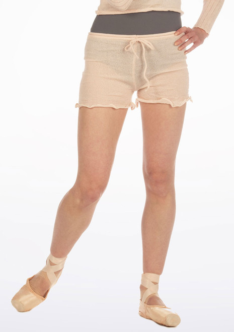 Sansha Kalinda Shorts Pink front. [Pink]