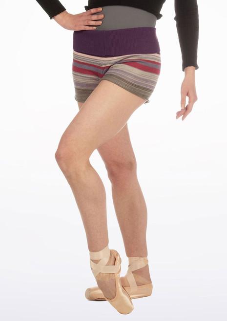 Sansha Finan Shorts Purple. [Purple]