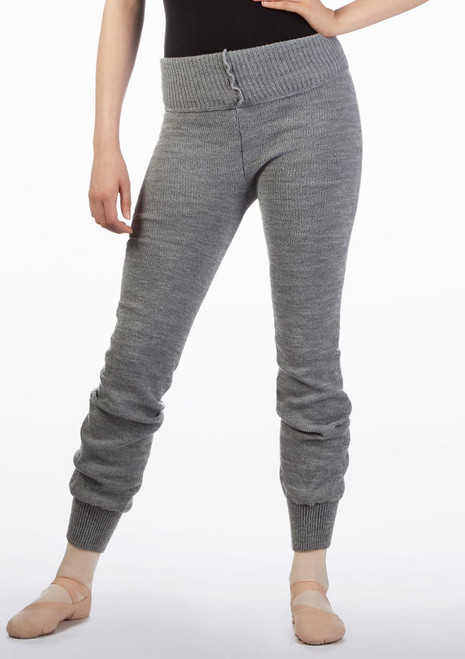Intermezzo Teen Warm Up Pants Grey front. [Grey]