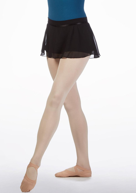 Move Adeline Teen Skirted Short Black front. [Black]