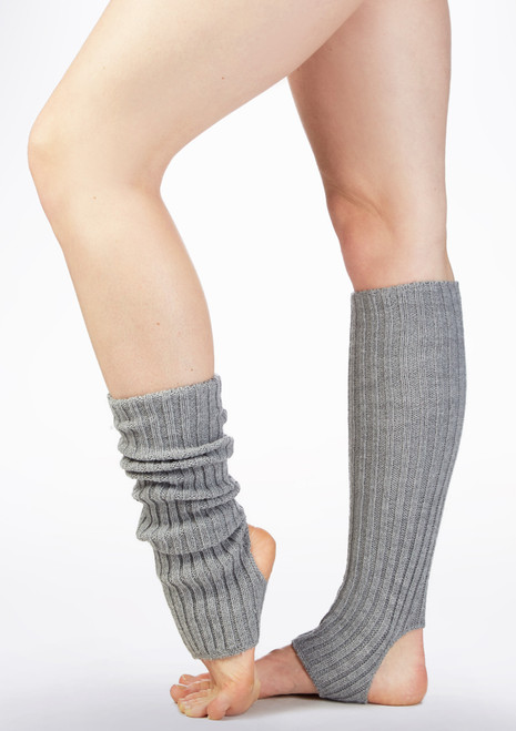 Intermezzo Precal Legwarmers 40cm Grey side. [Grey]
