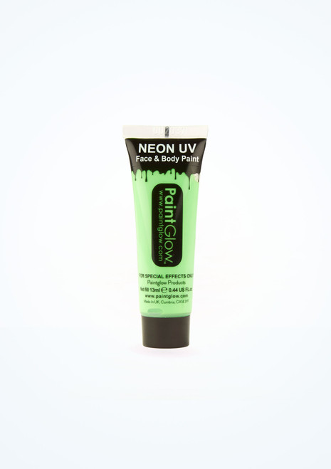UV Neon Face and Body Paint Green front. [Green]