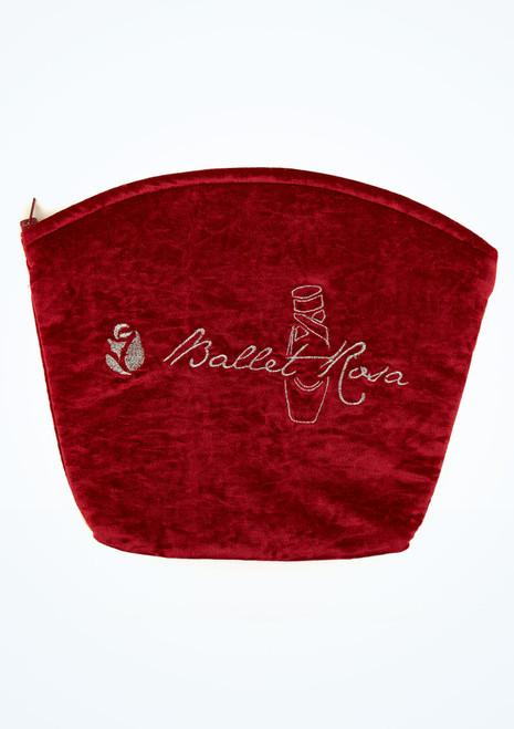 Ballet Rosa Velour Dance Bag Red main image. [Red]