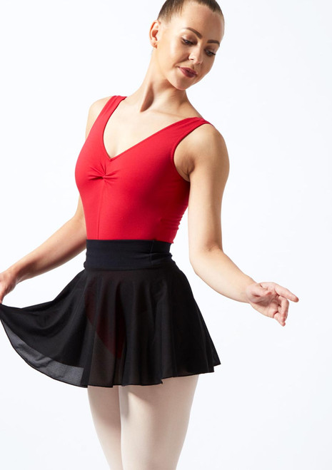 Freed Ophelia Circle Dance Skirt Purple front. [Black]