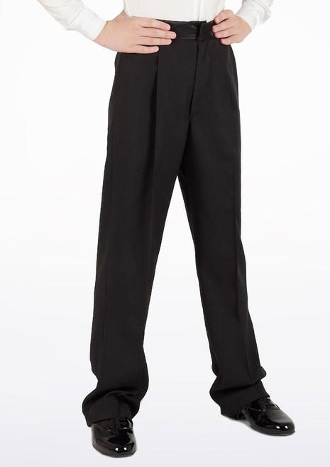 Move Javier Juvenile Dancesport Trousers Black [Black]