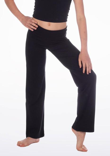 Repetto Girls Jazz Pants Black. [Black]