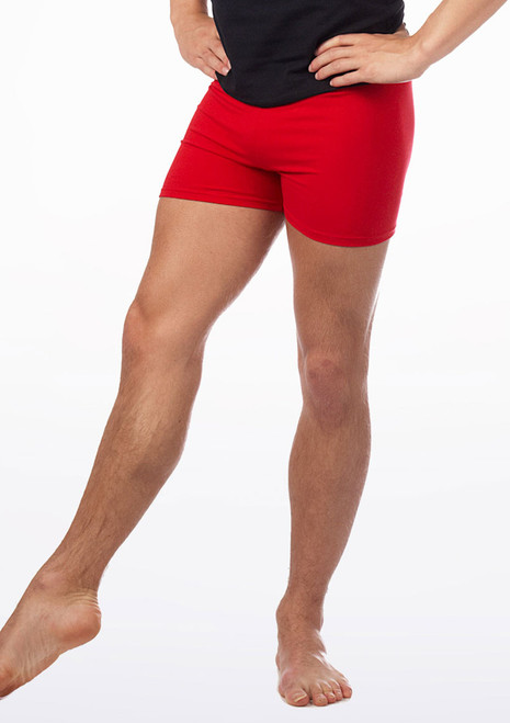 Intermezzo Pantalshort Mens Shorts Red. [Red]