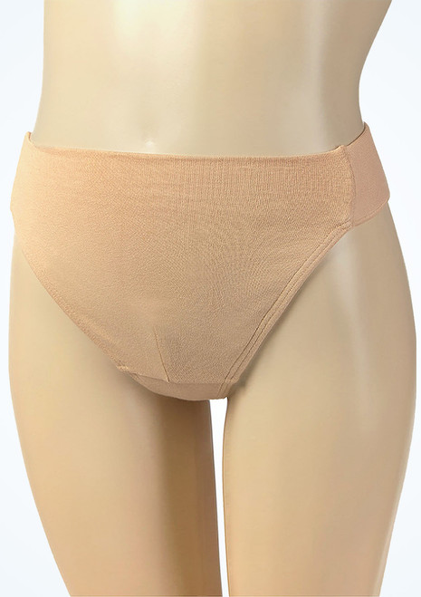 Intermezzo Boys Ballet Dance Belt Nude Tan front. [Tan]