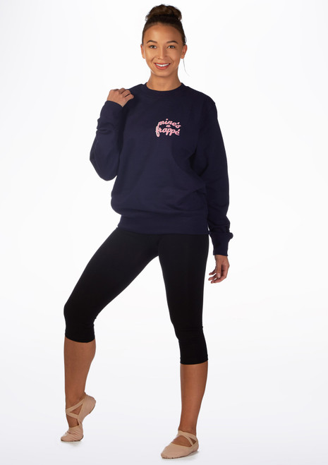 Kelham Frappe Dance Sweater Blue front. [Blue]