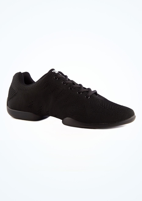 Anna Kern Men's Milo Dance Sneaker Black main image. [Black]