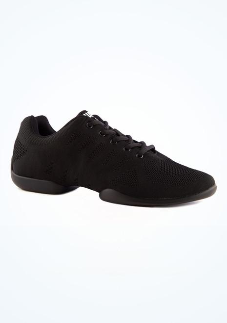 Anna Kern Men's Milo Dance Sneaker Black main image. [Black]
