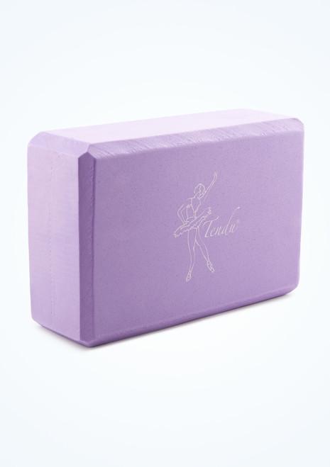 Tendu Yoga Brick Purple Front-1T [Purple]
