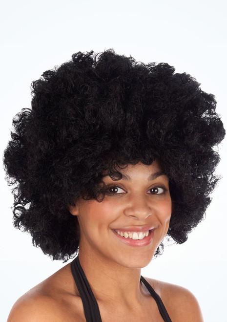 Jumbo Pop Wig Black. [Black]