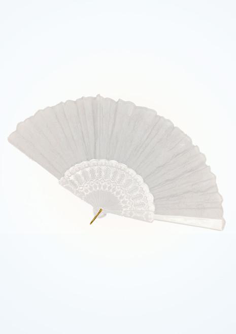 Lace Fan White. [White]