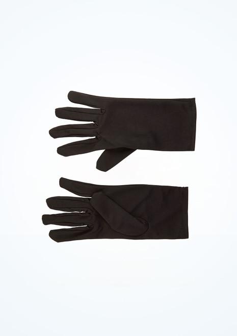 Short Black Gloves main image. [Black]