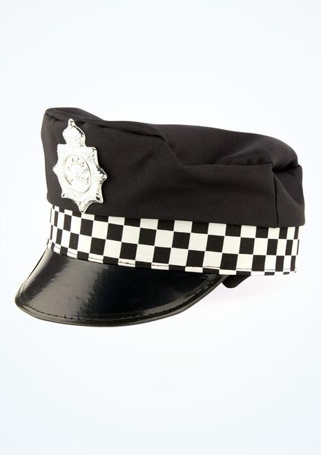 Police Officer Hat Black main image. [Black]