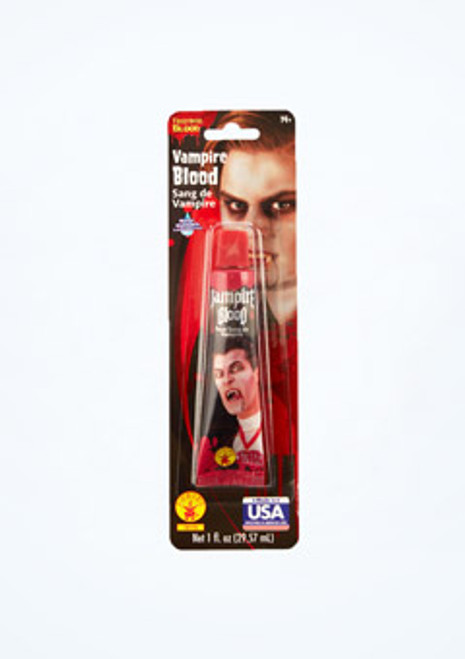 Halloween Fake Blood 29.57ml Red front. [Red]