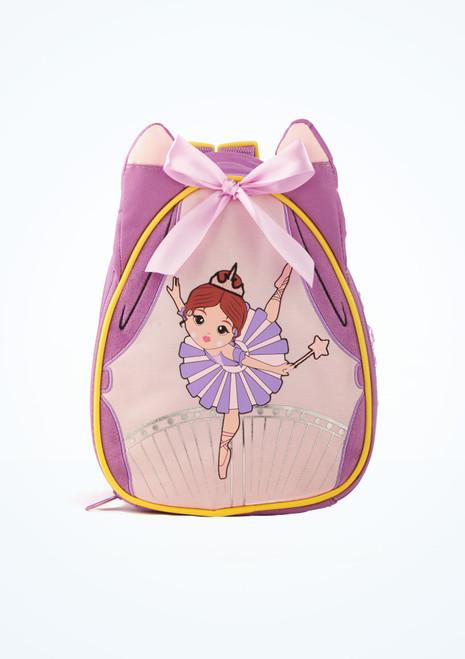 Capezio Sugar Plum Fairy Backpack Purple front. [Purple]
