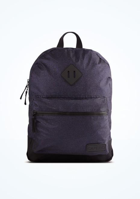Capezio Shimmer Backpack Purple front. [Purple]