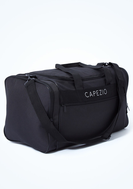 Capezio Everyday Dance Duffle Bag Black Front-1T [Black]