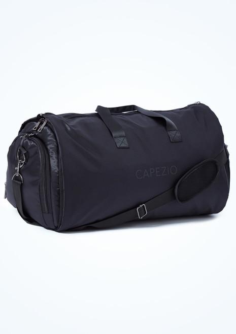 Capezio Garment Duffle Bag Black Front-3T [Black]