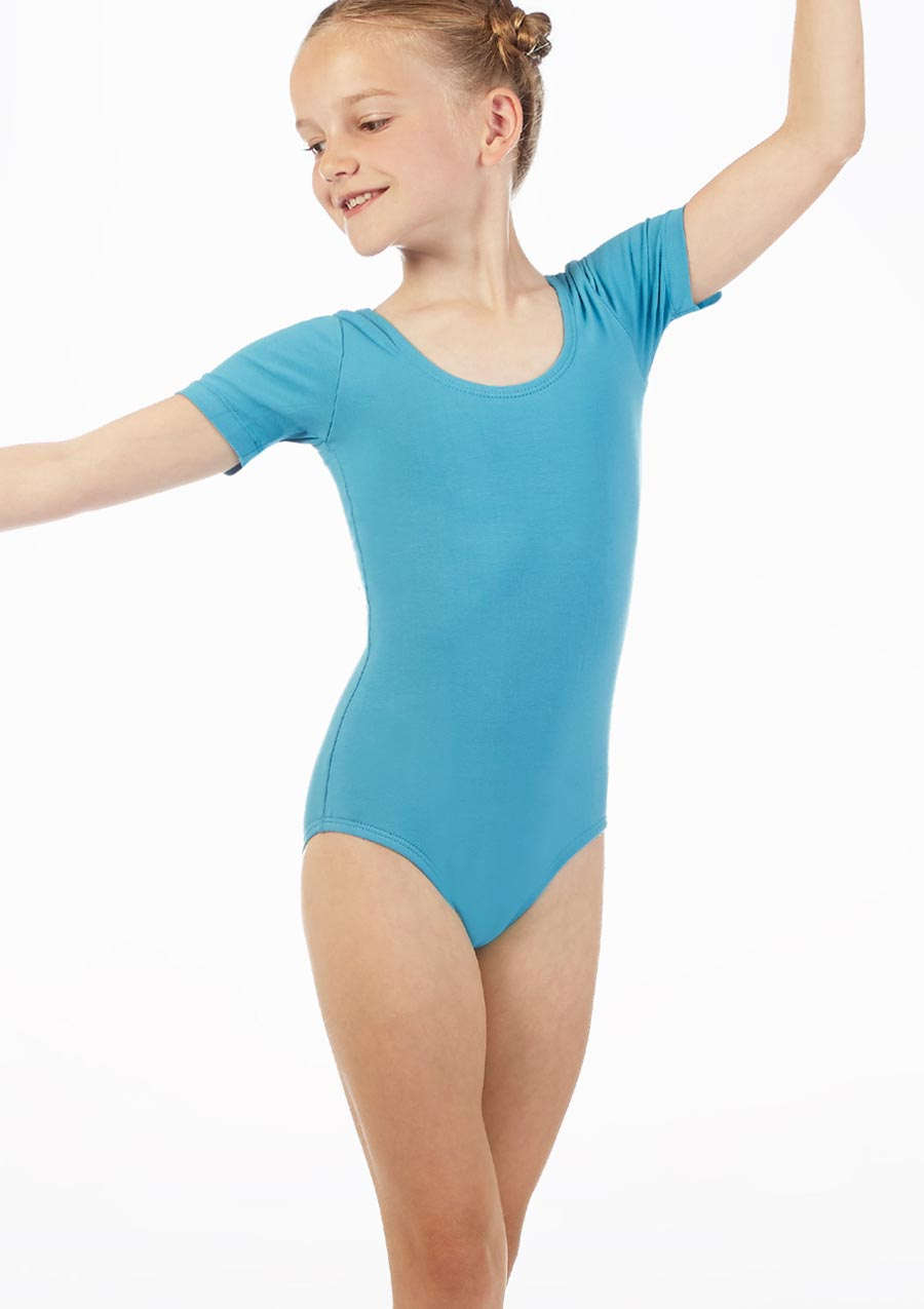 Move Freya Leotard NEW Blue front. [Green]