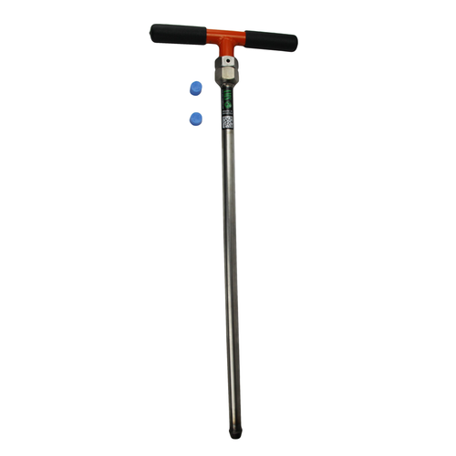 """7/8"""" x 24"""" Stainless Steel Soil Recovery Probe with Handle"""